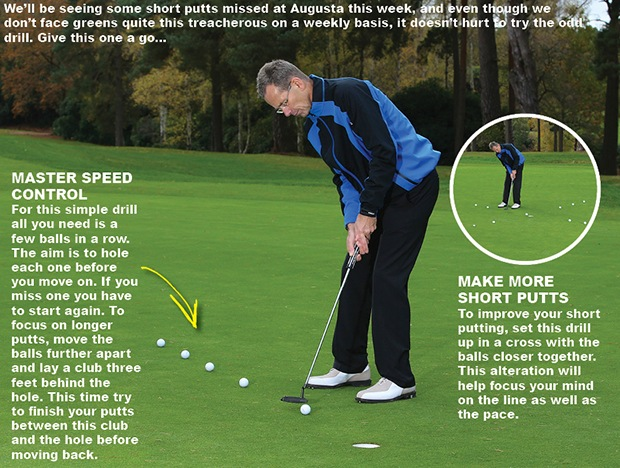 Golf putting tip