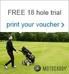 Motocaddy - FREE 18 hole trial