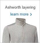 Ashworth Natural Performance wind sweater