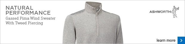Ashworth Natural Performance wind sweater