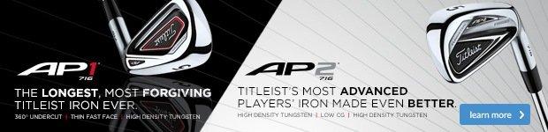 Titleist 716 AP1 & AP2 irons