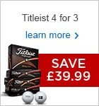 Titleist 4 for 3 2016 - £39.99