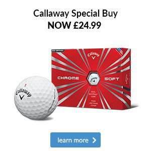 Callaway Chrome Soft - Special Buy
